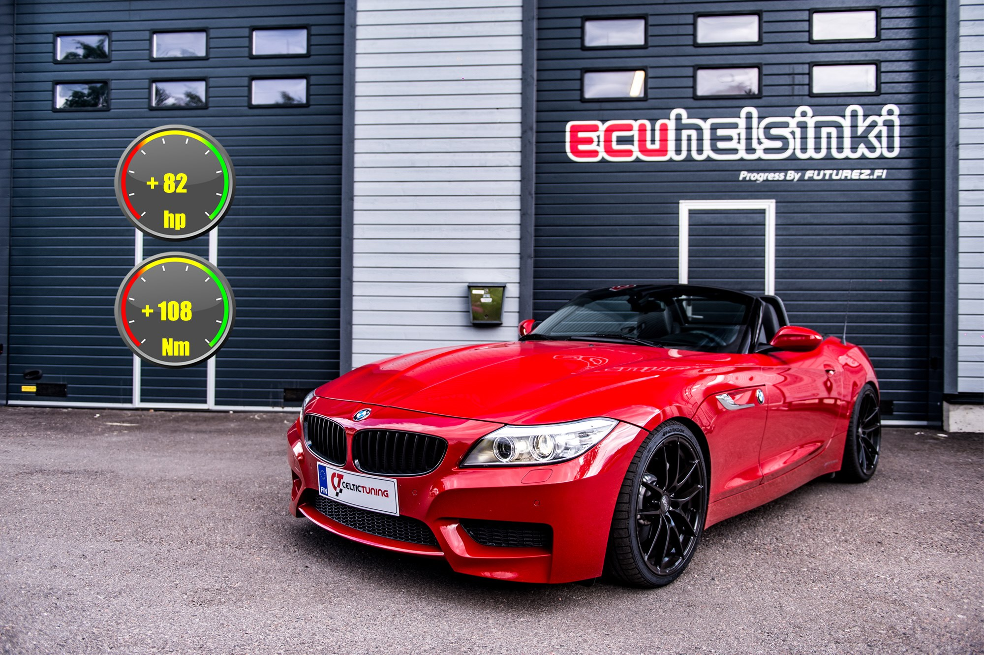 BMW Z4 lastutus celtic tuning