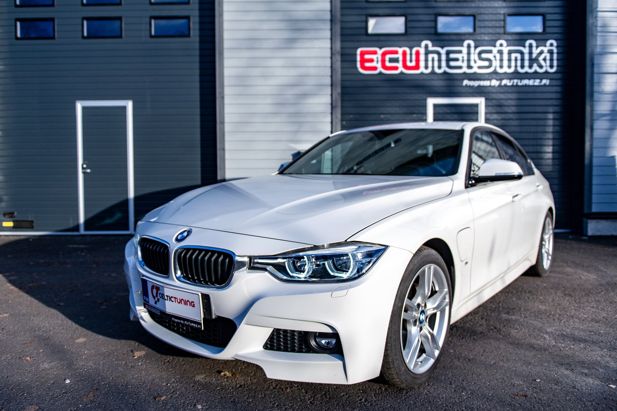 BMW 330e lastutus celtic tuning