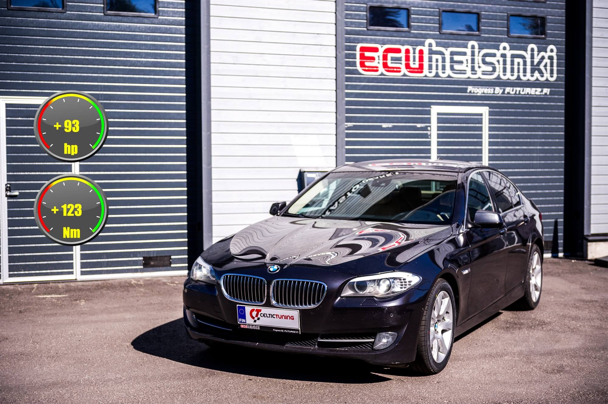 BMW 530D celtic tuning lastutus