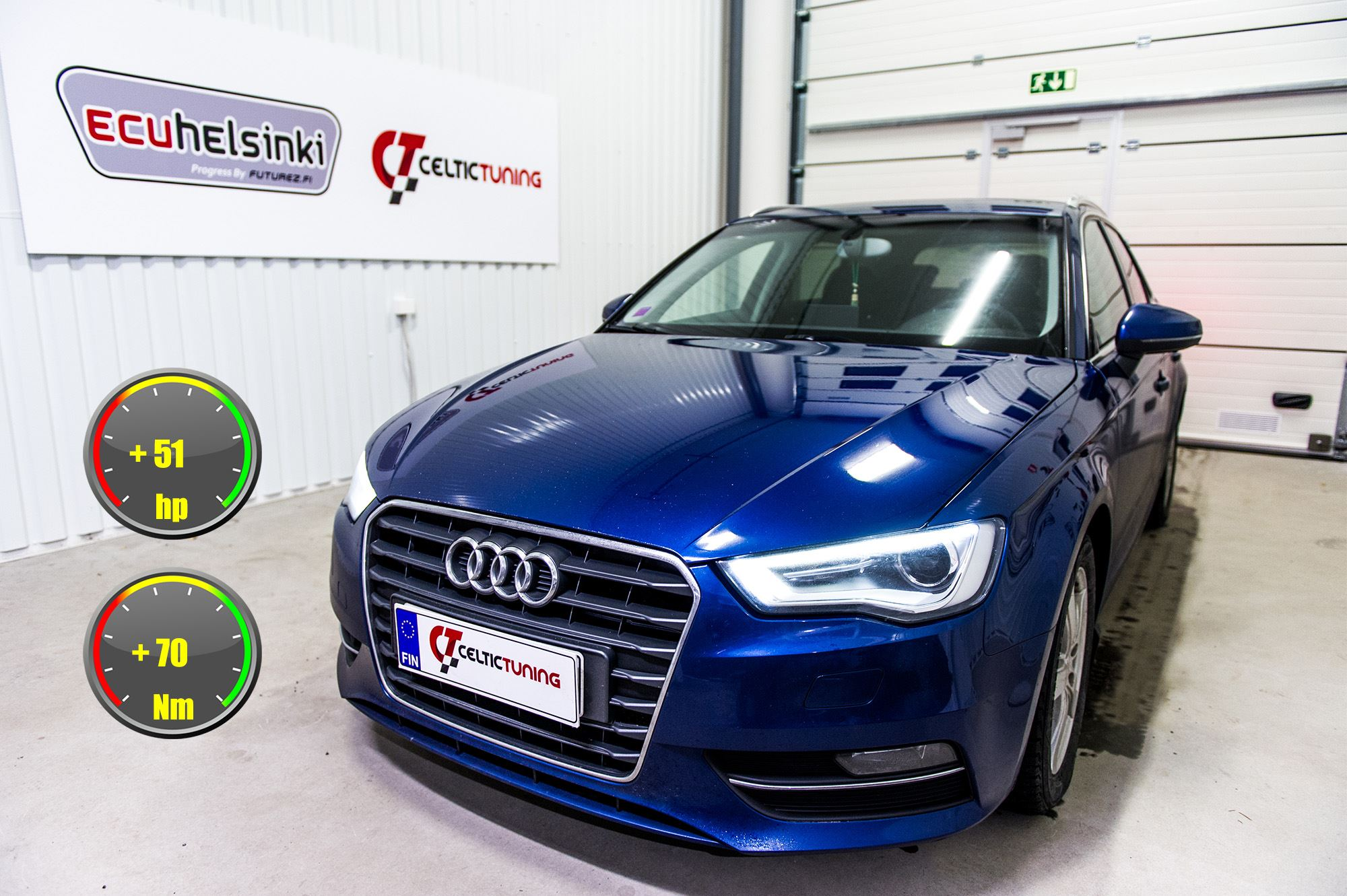 Audi A3 optimointi celtic tuning
