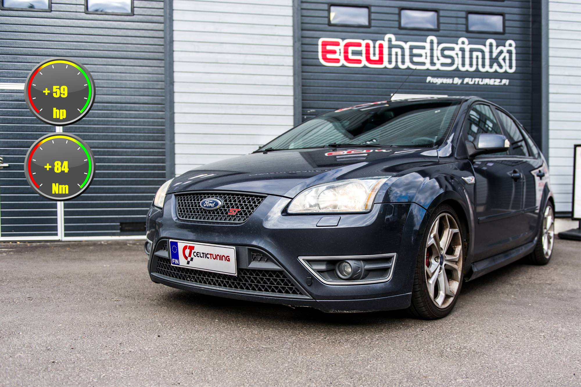 Ford Focus ST lasututs celtic tuning