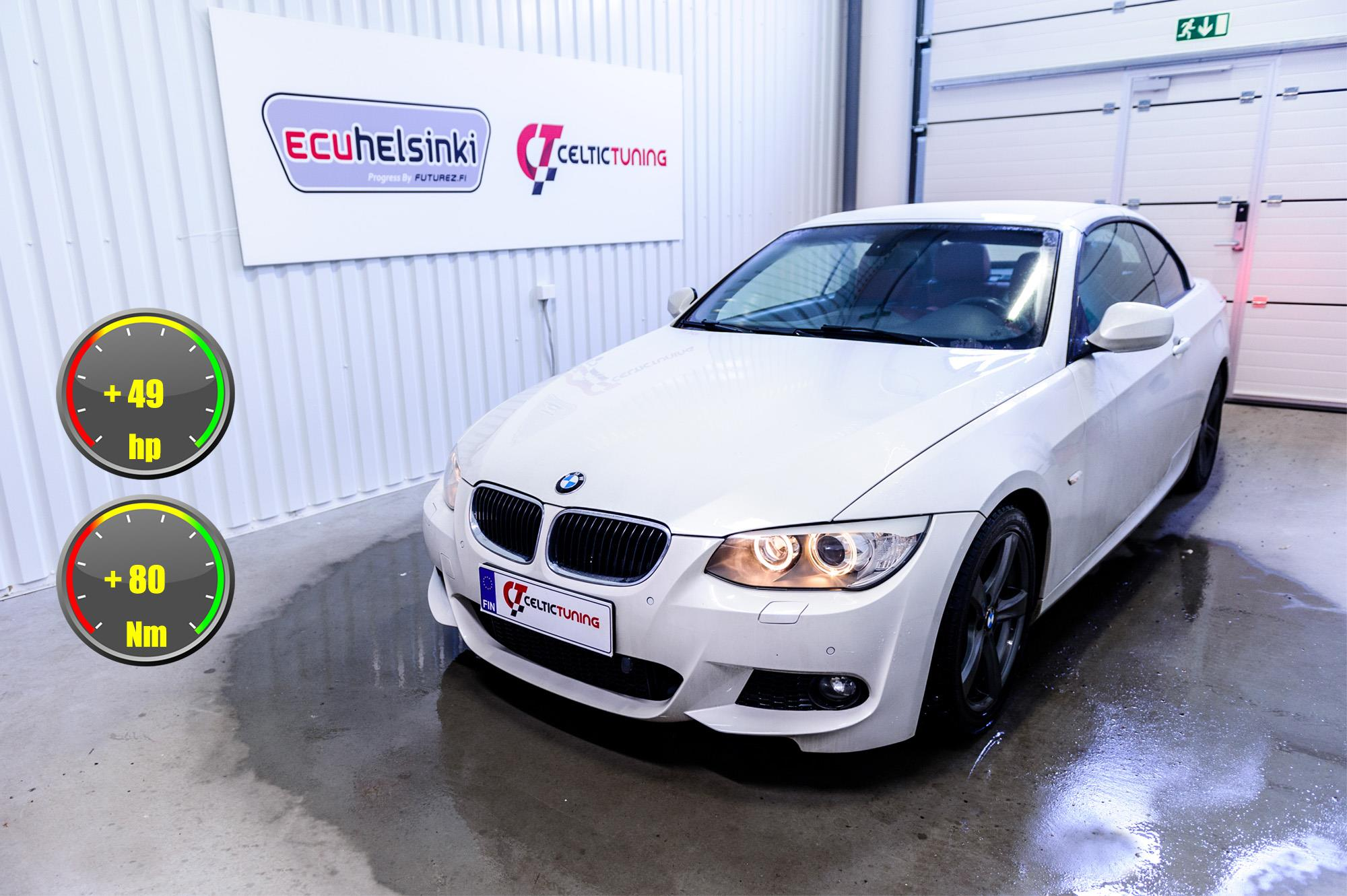 BMW 320D E93 optimointi celtic tunin