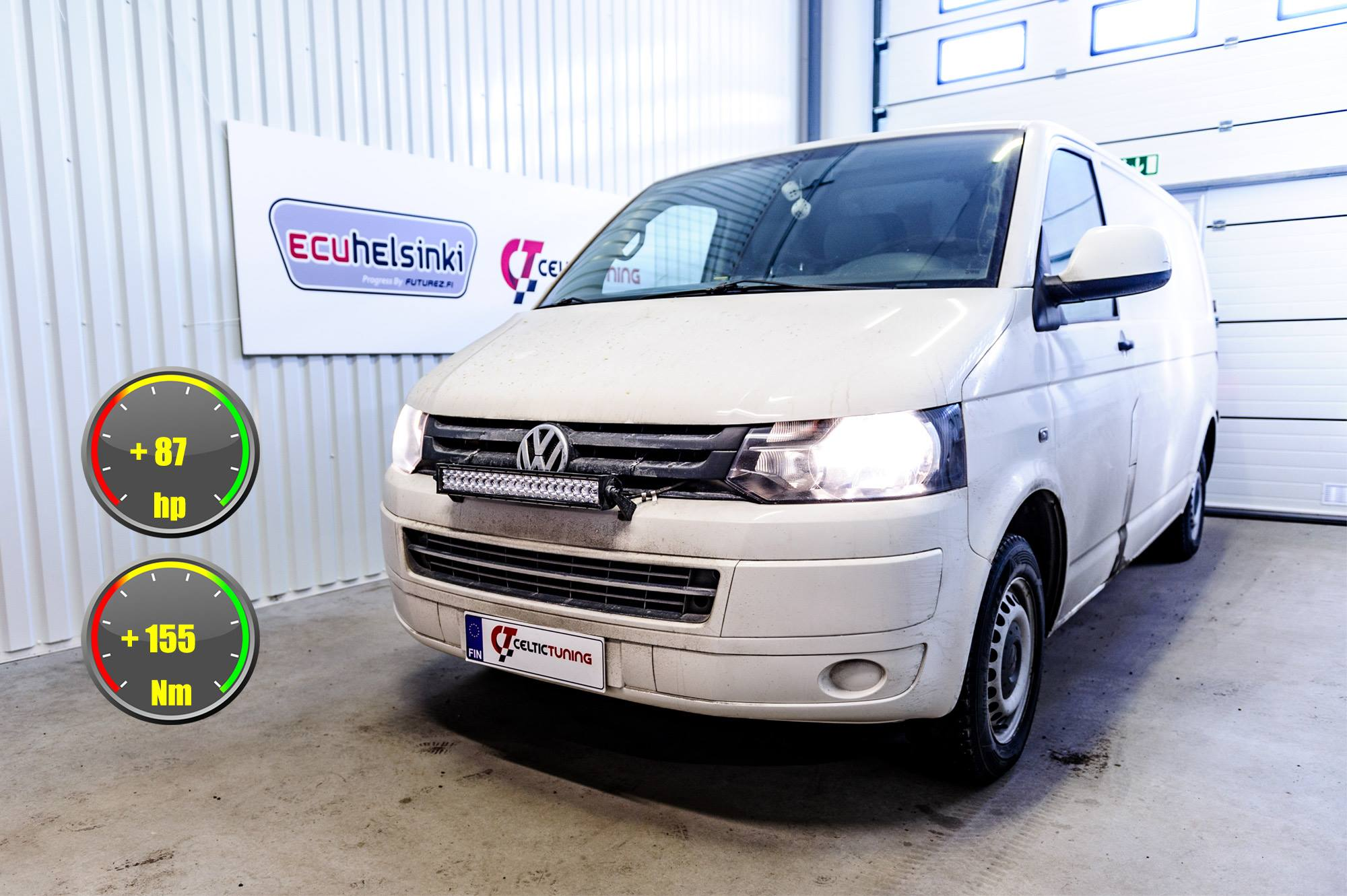 VW Transporter lastutus celtic tunin