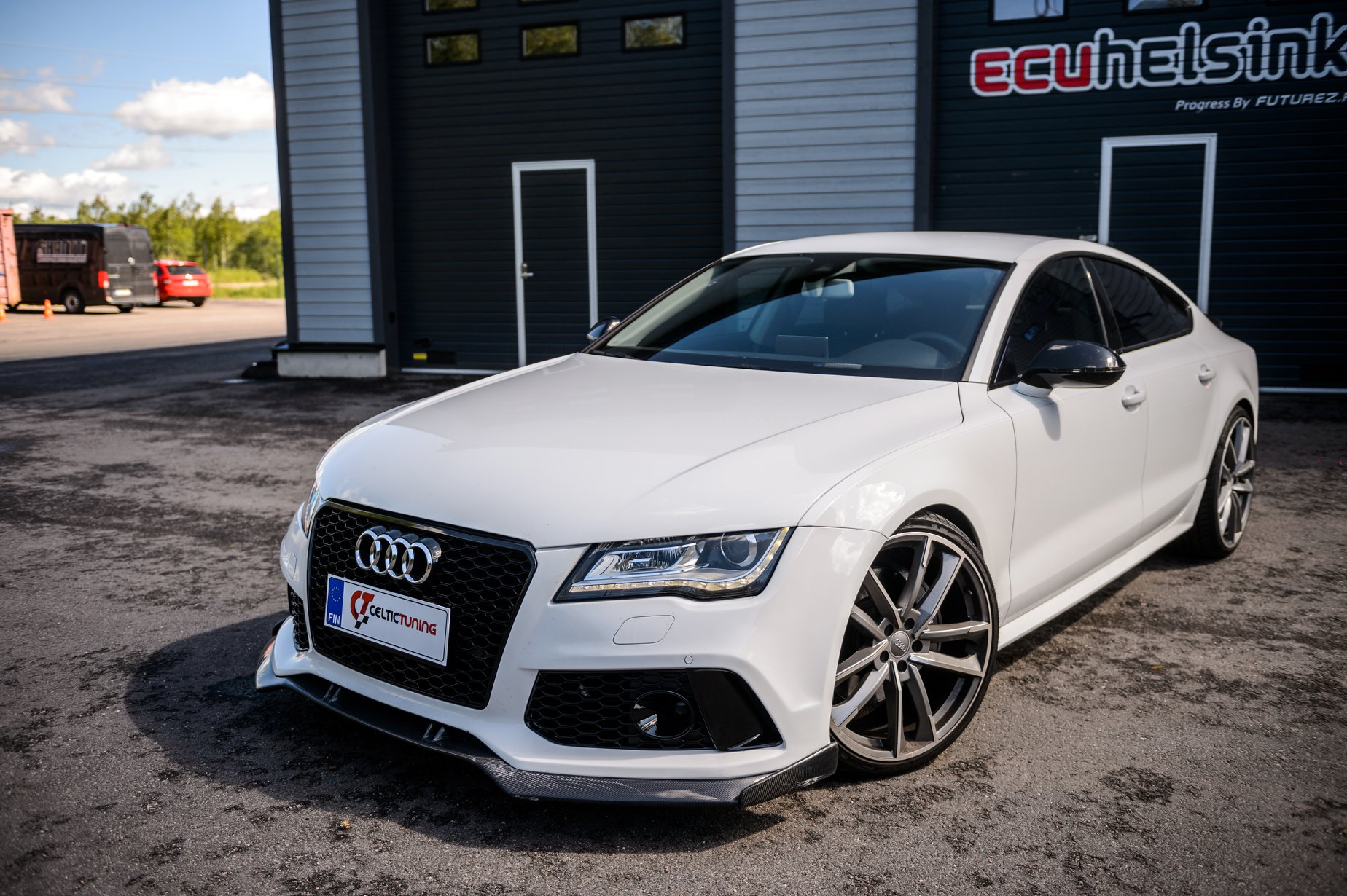 Audi A7 3.0 TFSI celtic tuning lastu