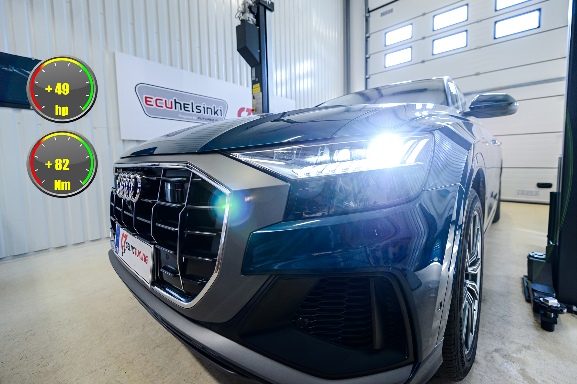 Audi Q8 ohjelmointi celtic tuning