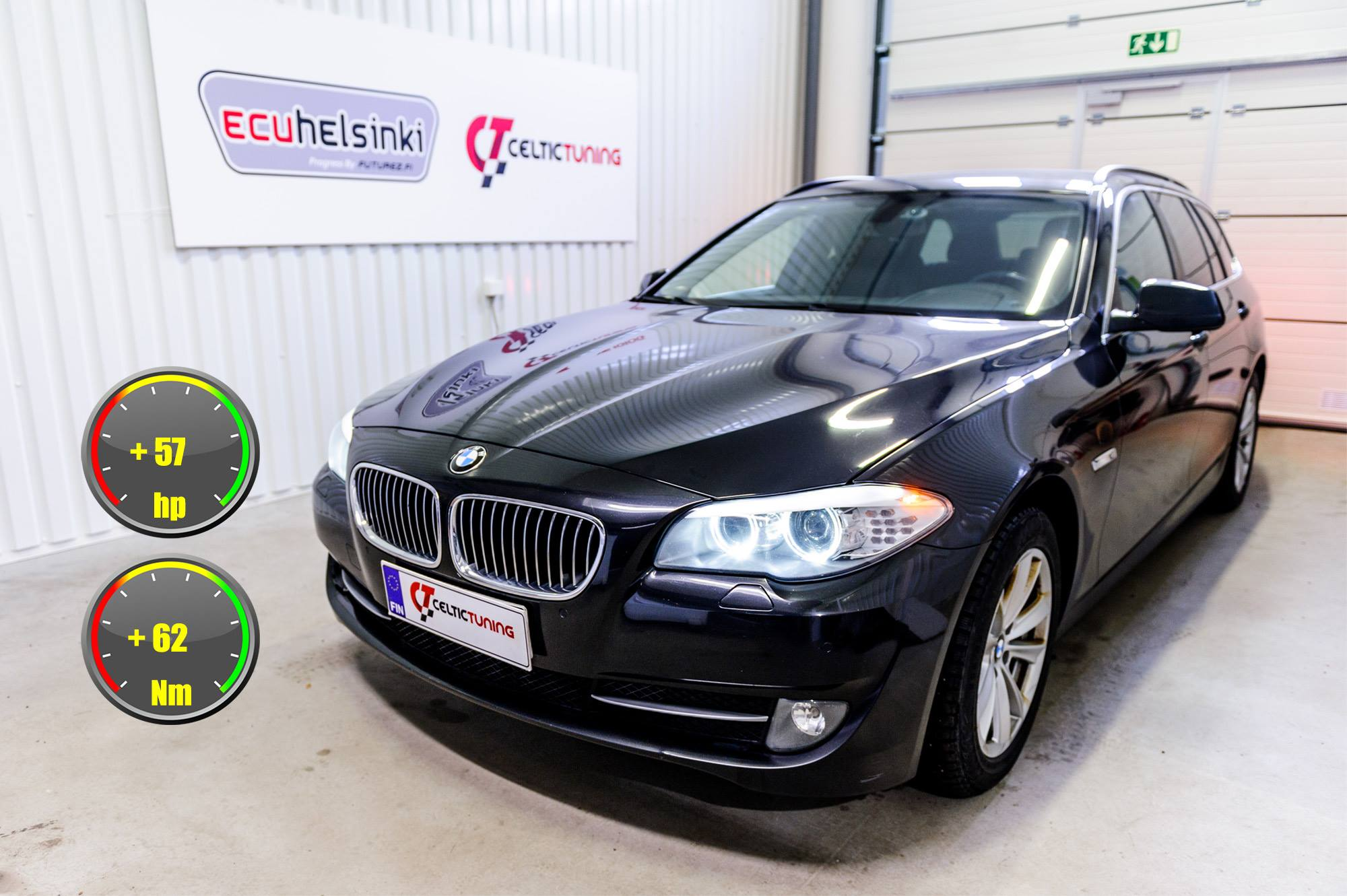BMW 520D lastutus celtic tuning