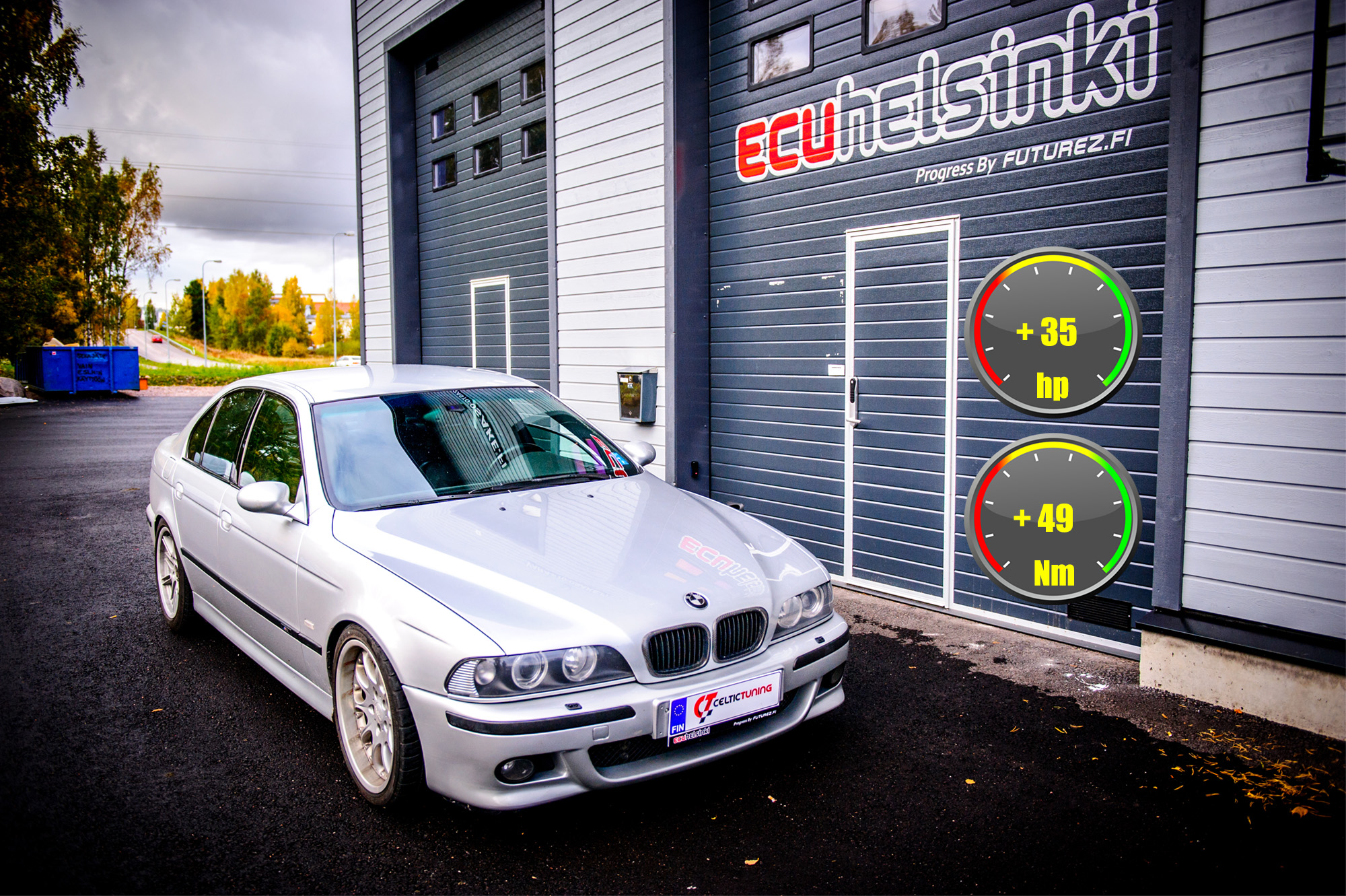 BMW E39 optimointi Celtic tuning
