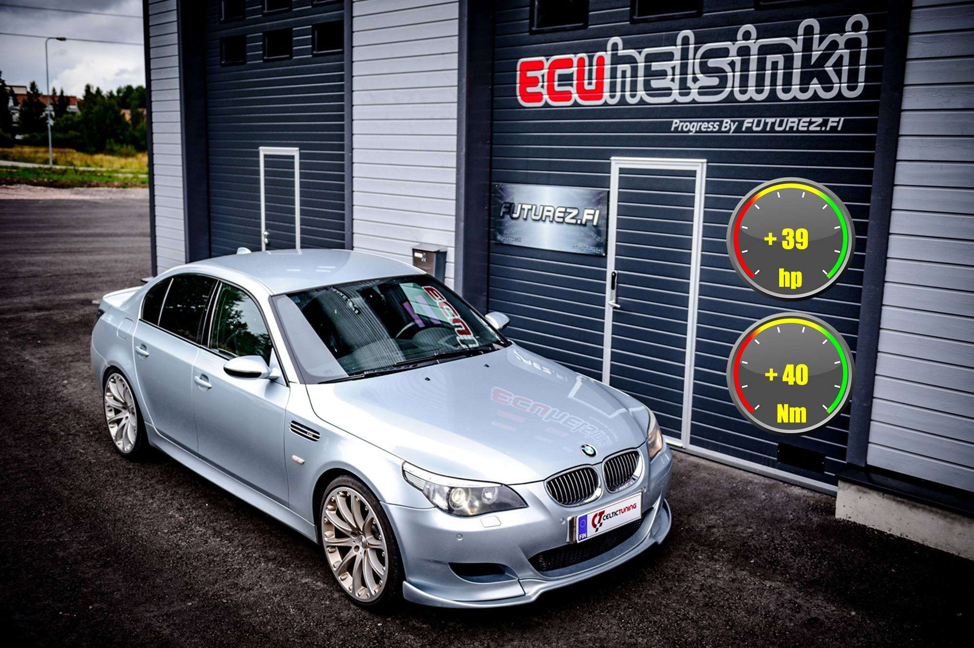 bmw m5 v10 optimointi celtic tuning