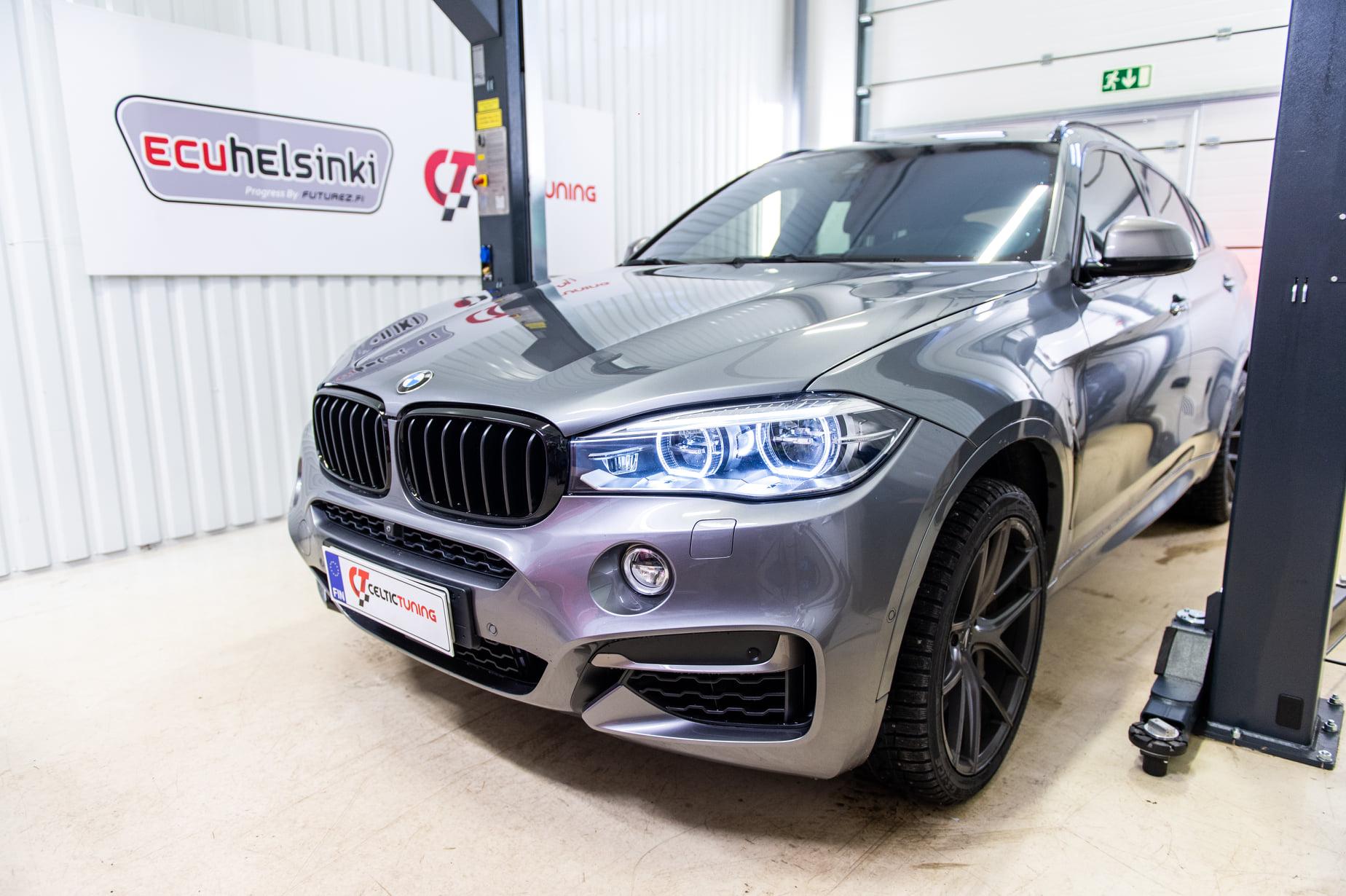 BMW X6 M50D ohjelmointi celtic tuning