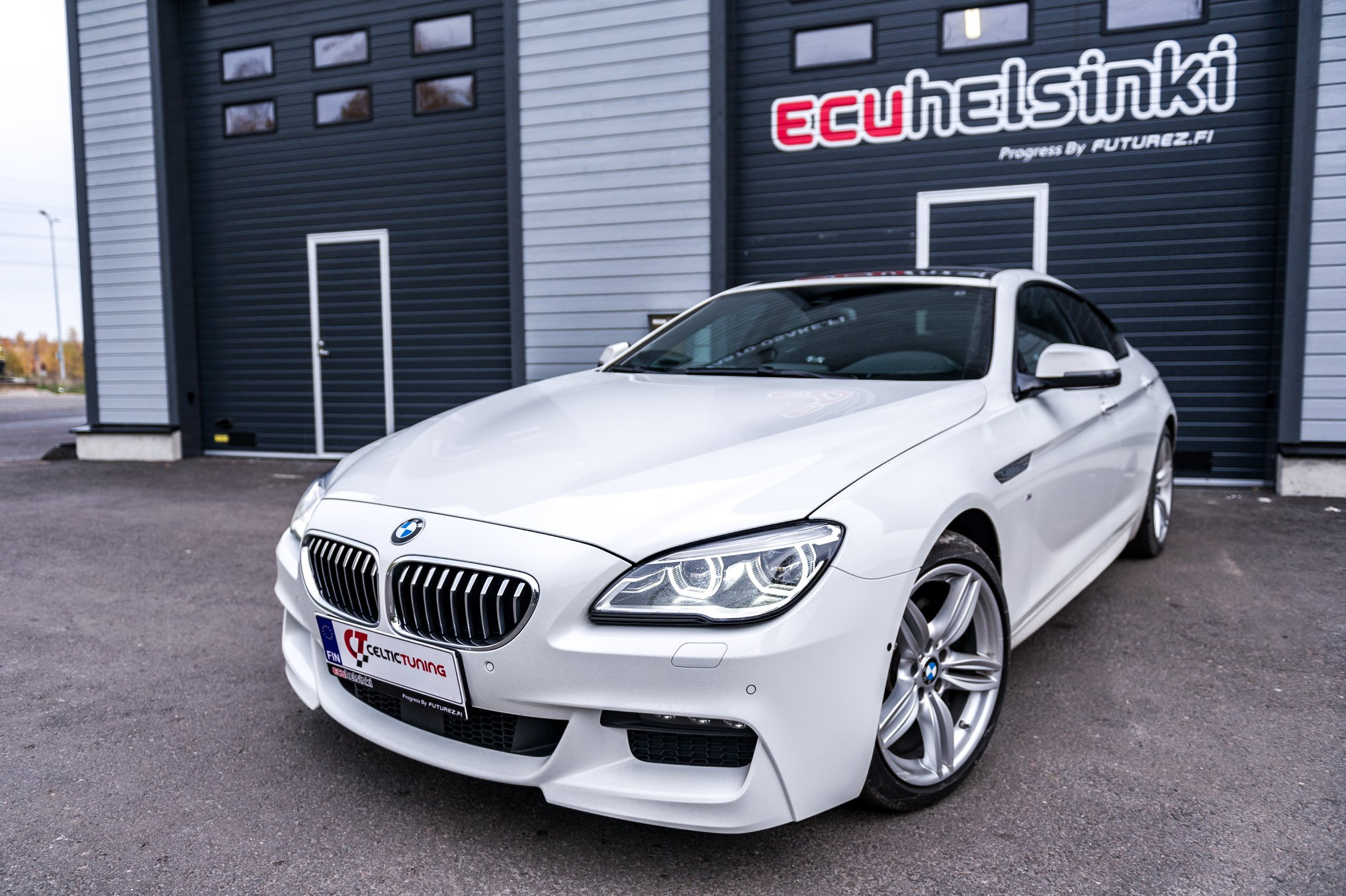 BMW 640D Celtic Tuning Lastutus