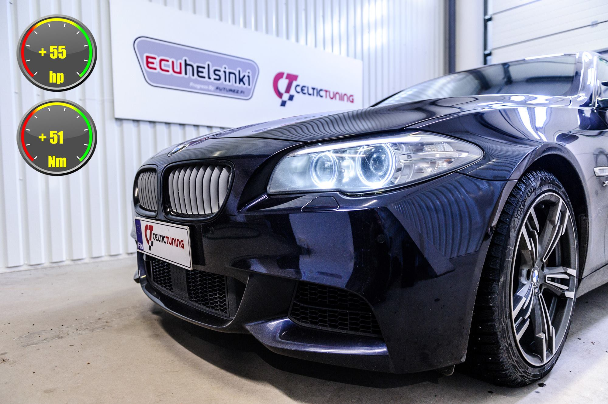 BMW M550D lastutus celtic tuning
