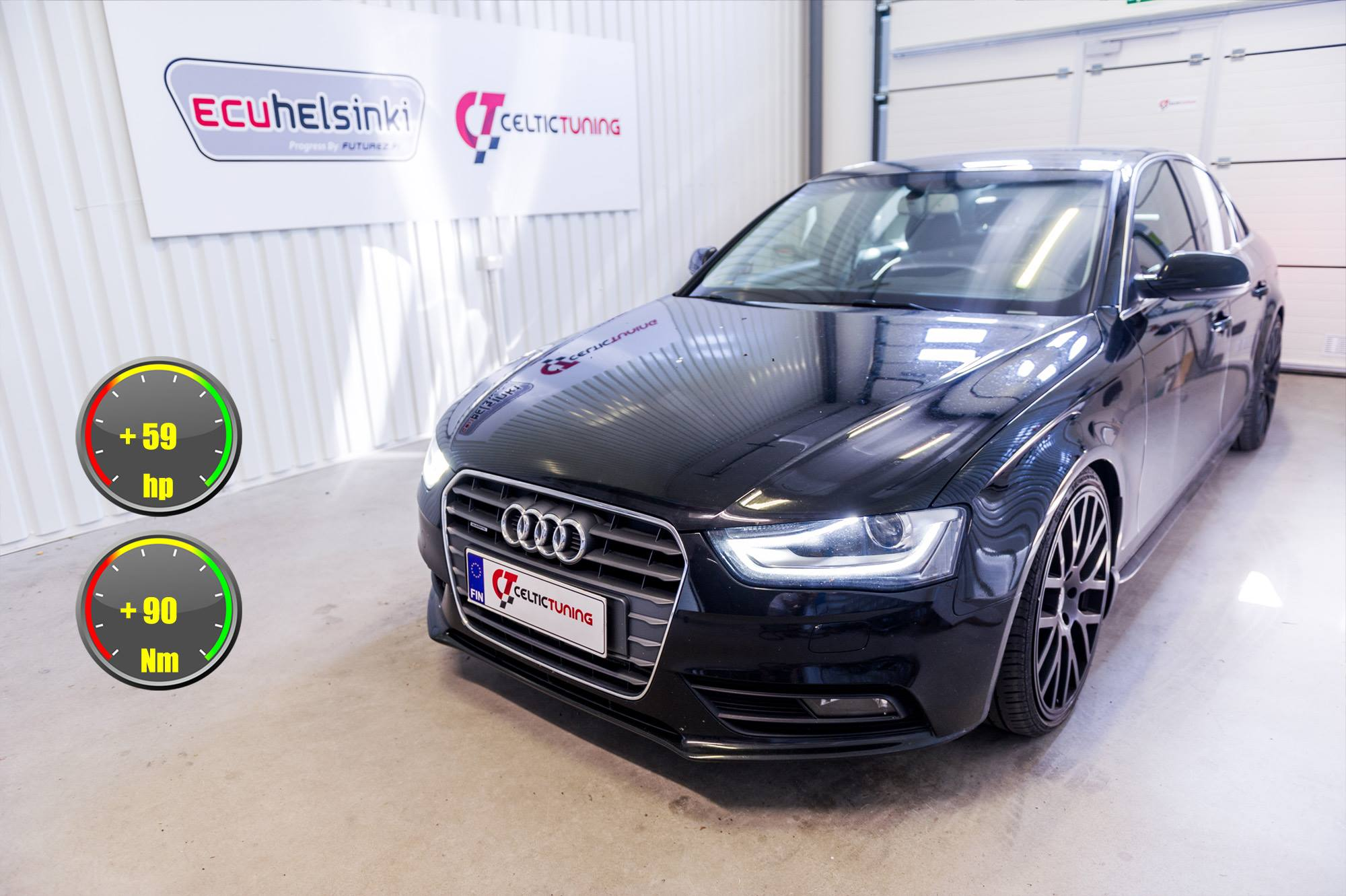 Audi A4 3.0 TDI lastutus celtic