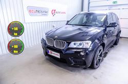 BMW X3 30D lastutus celtic tuning