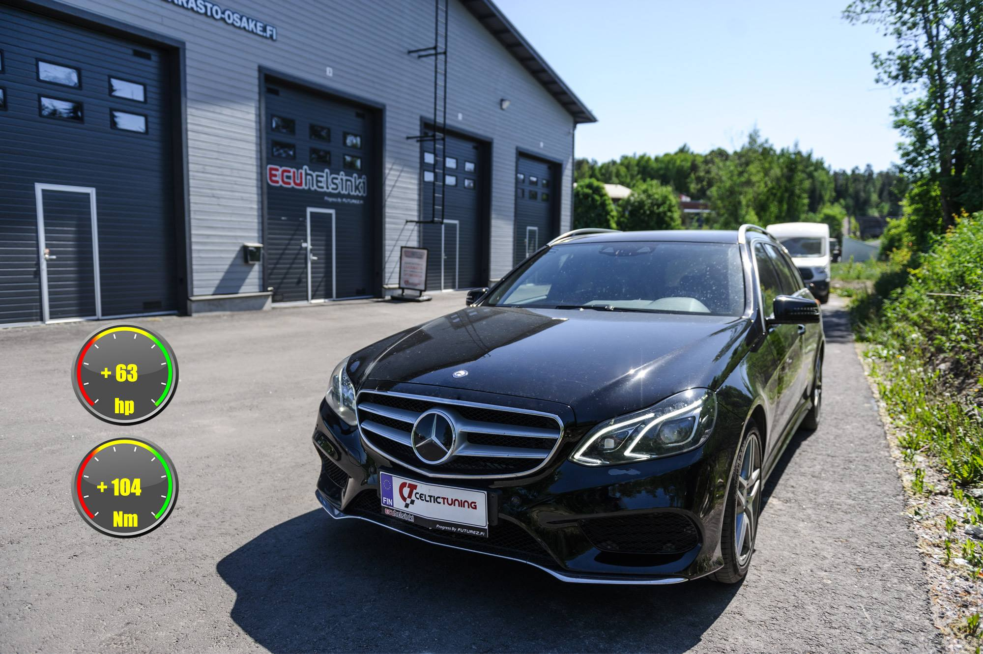 Mecedes Benz E300 CDI lastutus celti