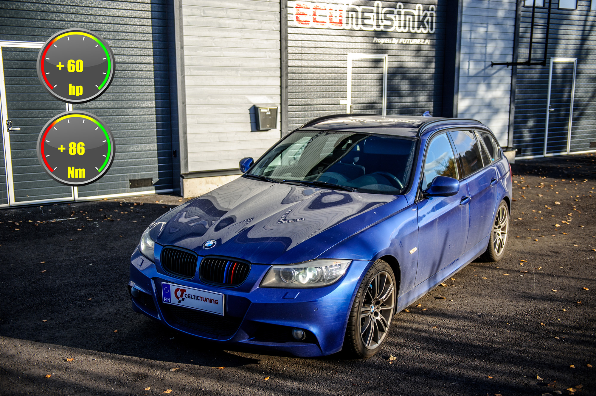BMW 318D optimointi celtic tuning