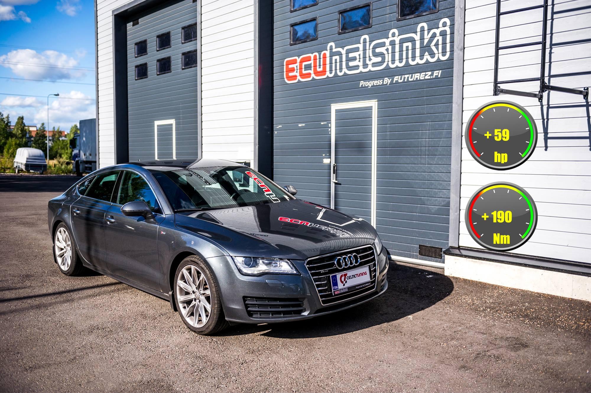 Audi A7 celtic tuning lastutus