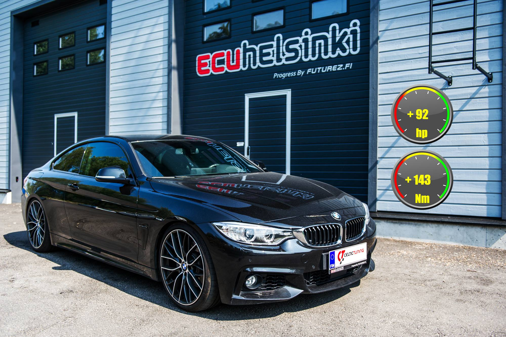 BMW 435D lastutus celtic tuning