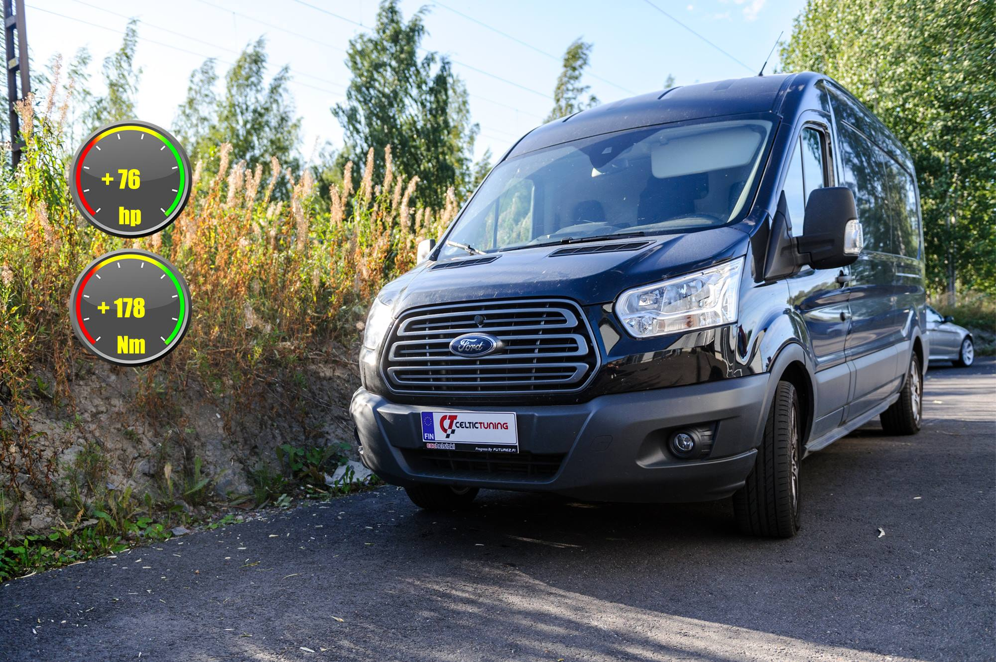 Ford Transit celtic tuning lastutus