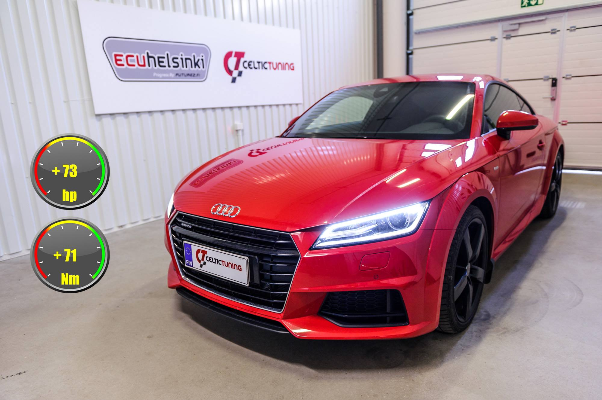Audi TT Lastutus celtic tuning