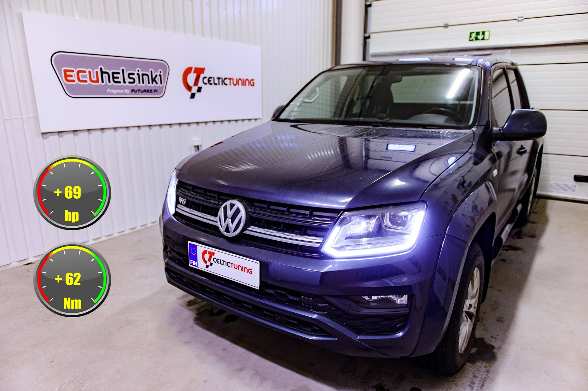 VW amarok V6 optimointi celtic