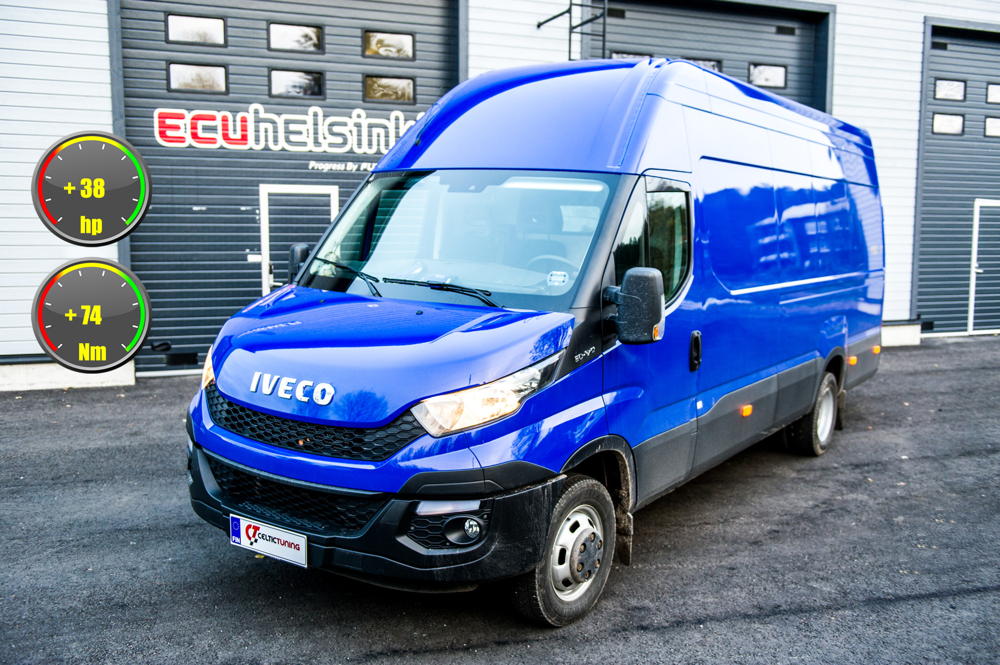 iveco daily optimointi celtic