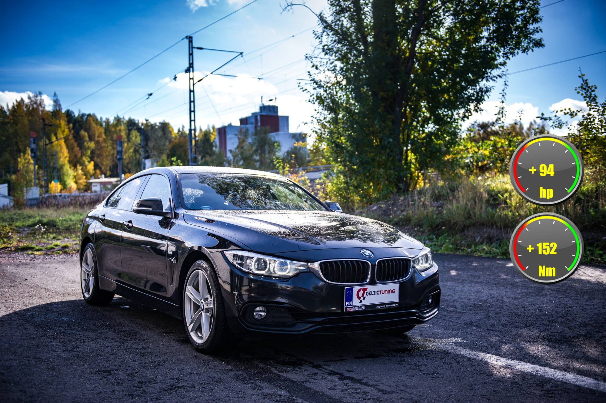 BMW 420i B48 Celtic Tuning Lastutus
