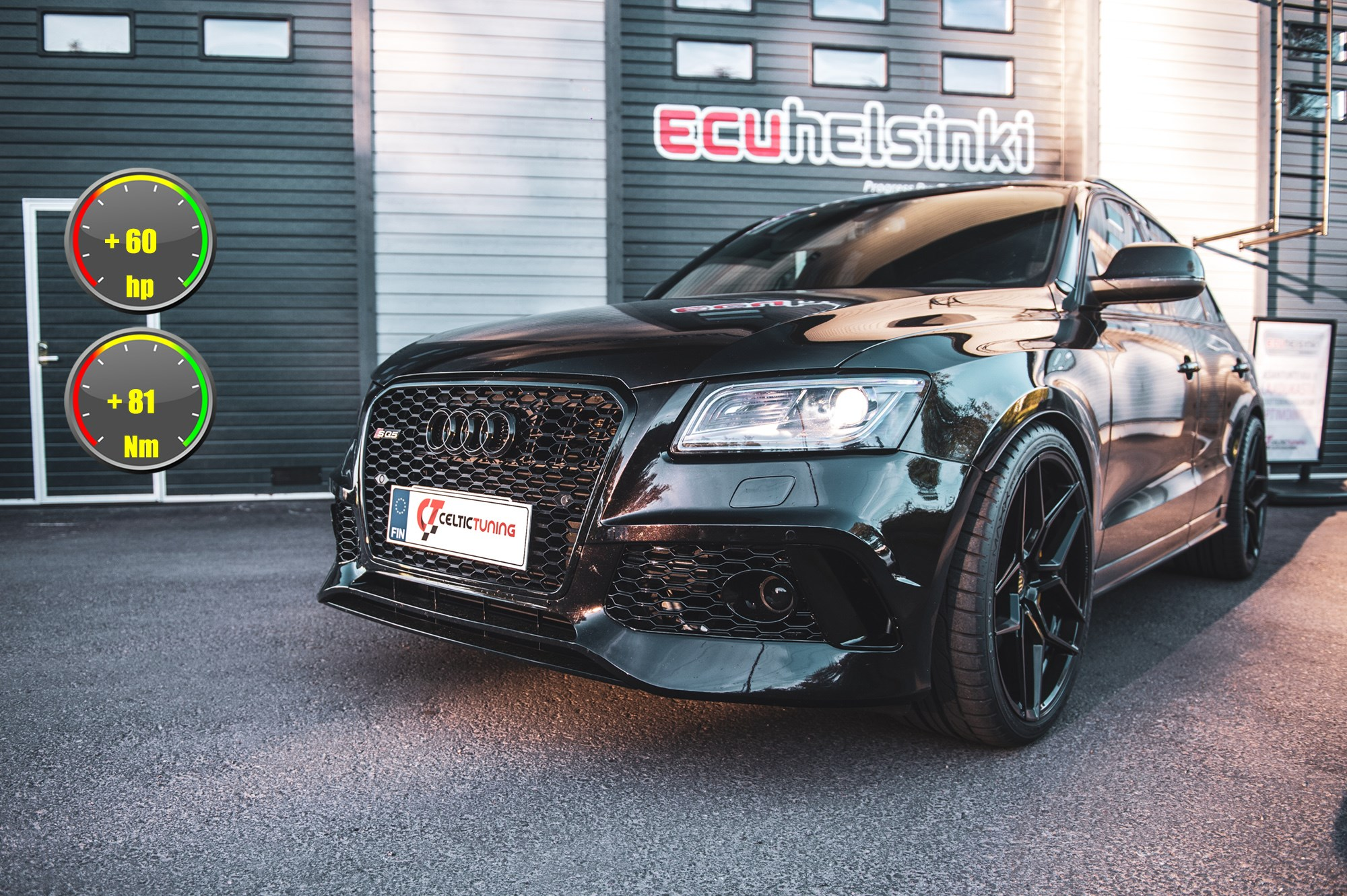 Audi SQ5 lastutus celtic tuning
