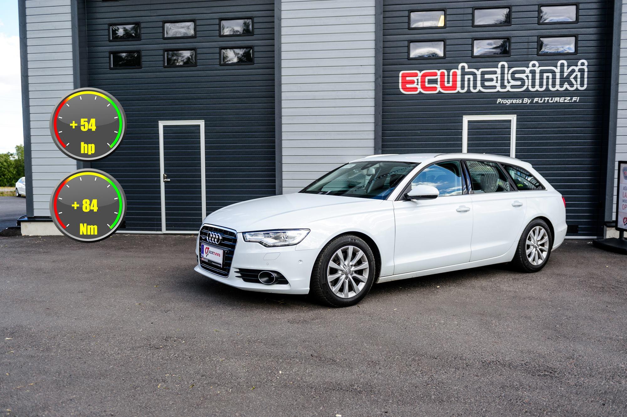 Audi A6 celtic tuning lastutus