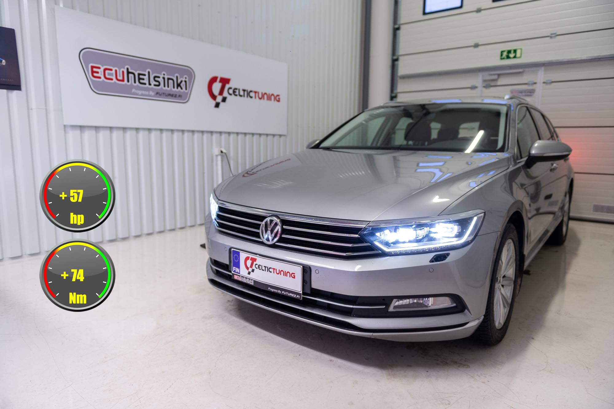VW Passat lastutus celtic tuning