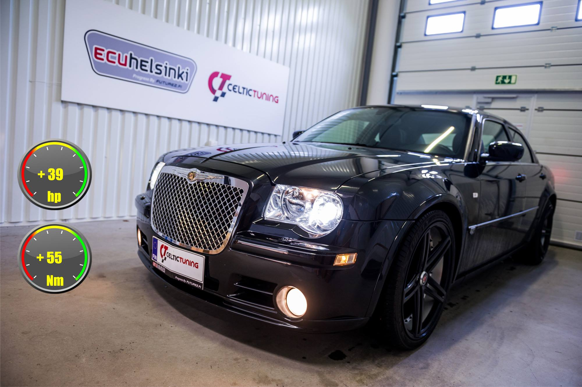 Chrysler 300C lastutus celtic tuning