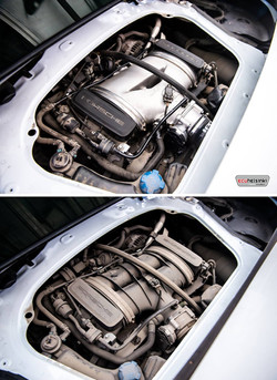 Porsche Boxter S plenum