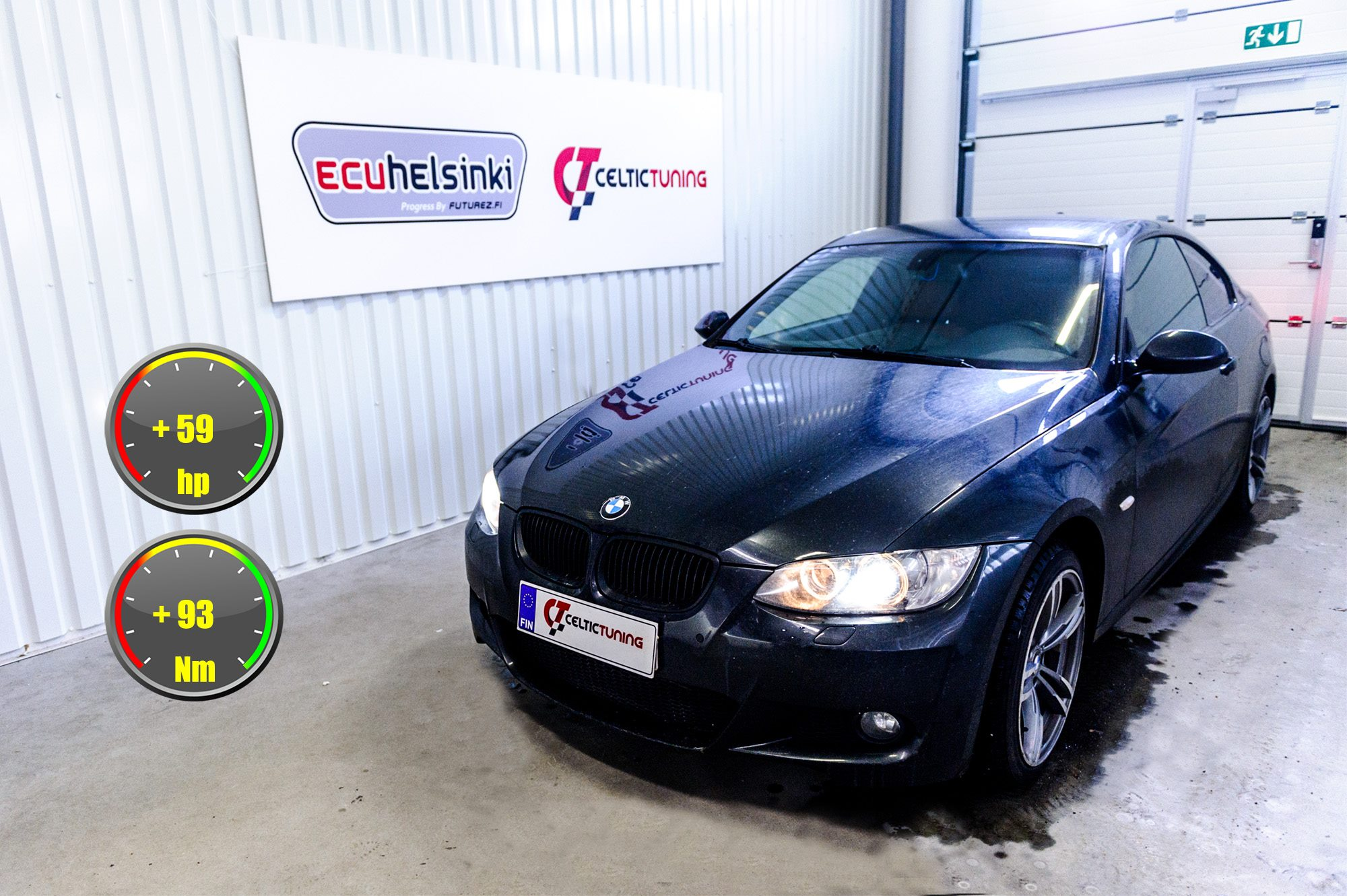 BMW 320D lastutus celtic tuning