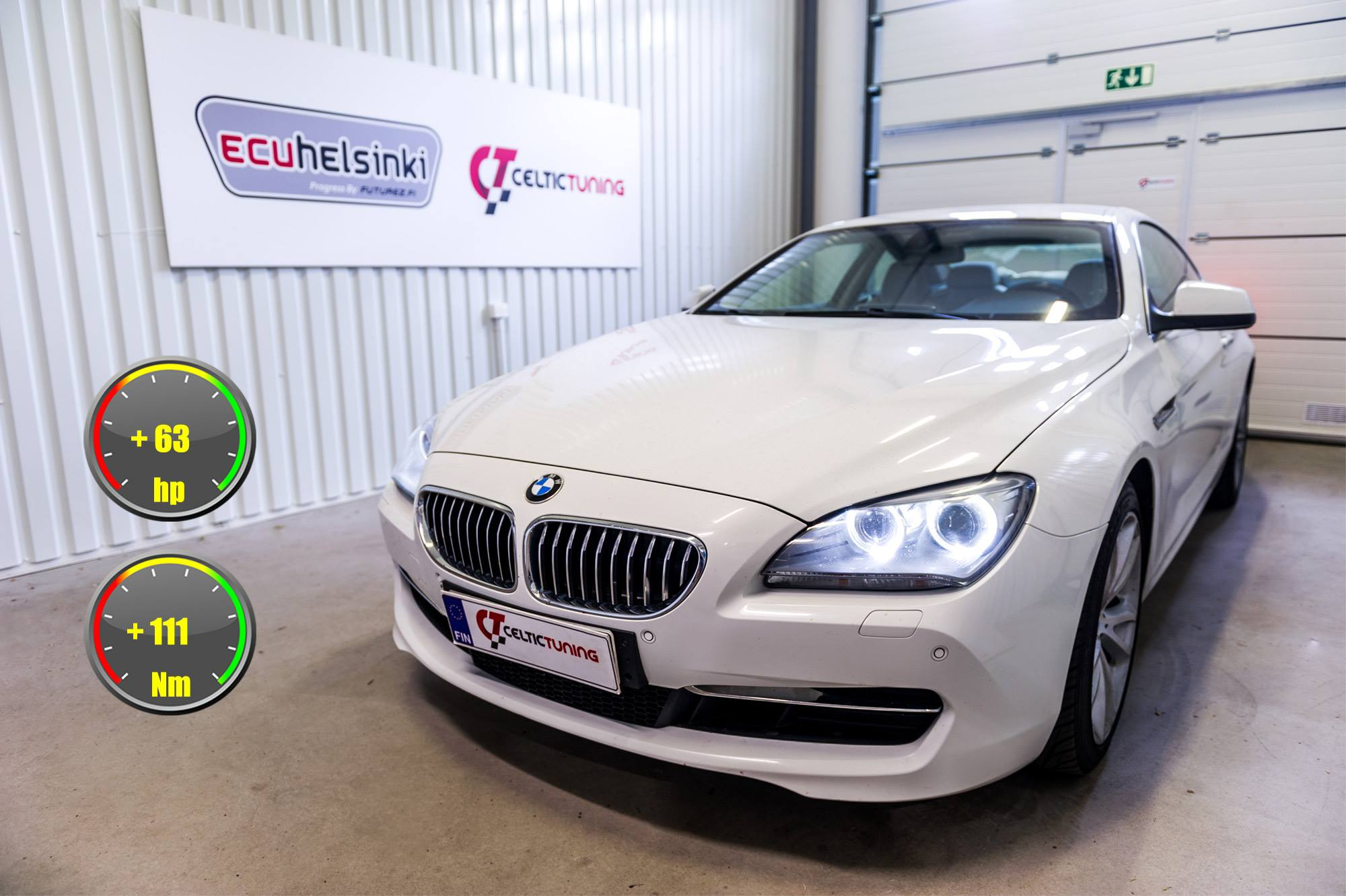 BMW 640i lastutus celtic tuning