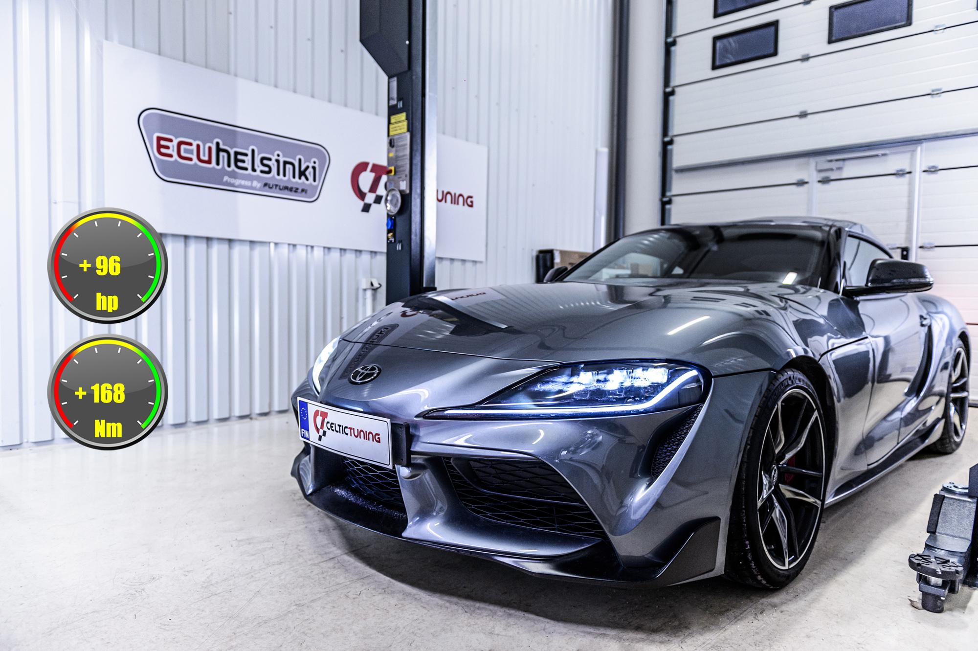 Toyota Supra 2020 ohjelmointi celtic tuning