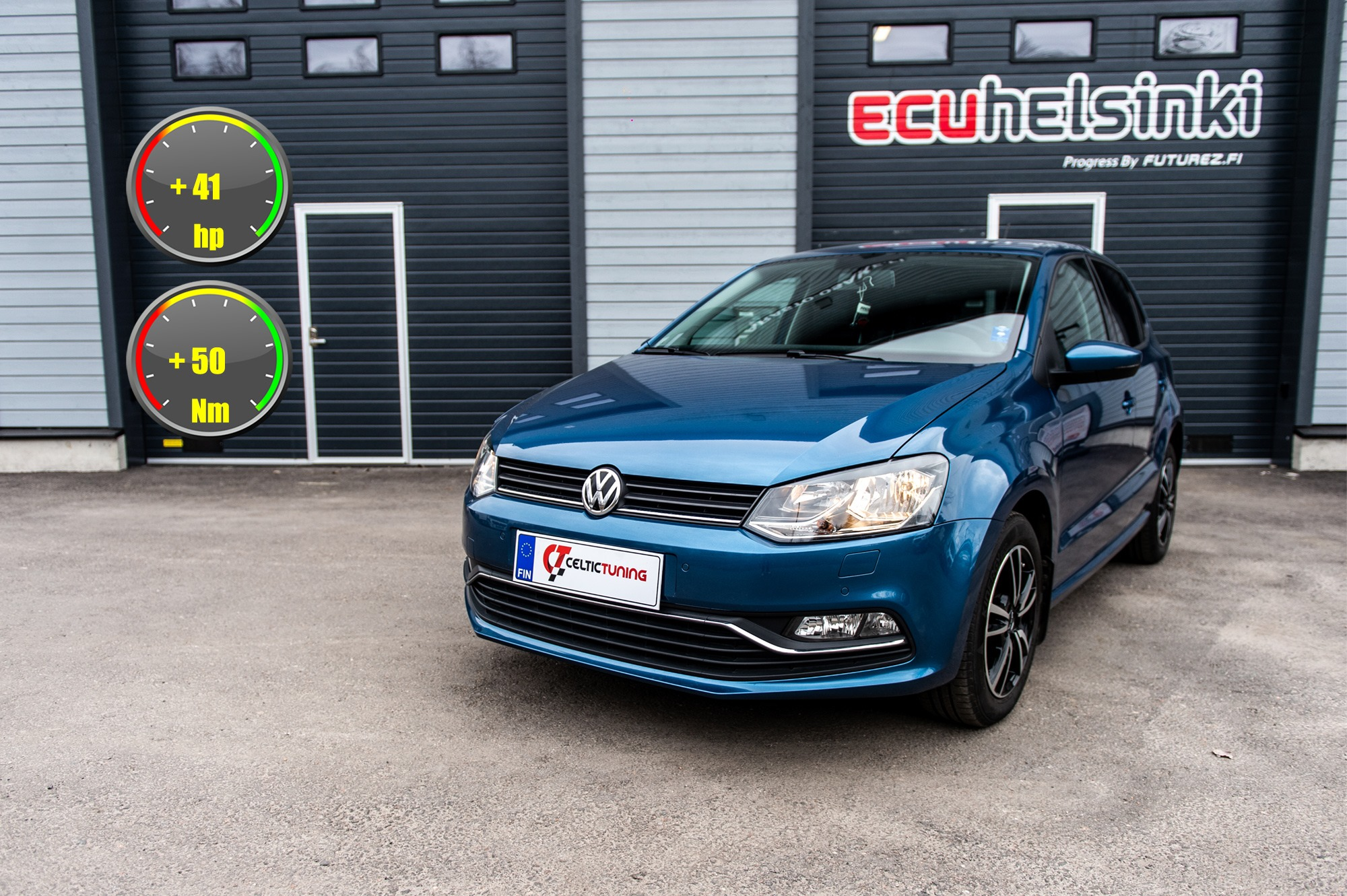 VW Polo 1.2 TSI celtic tuning lastut