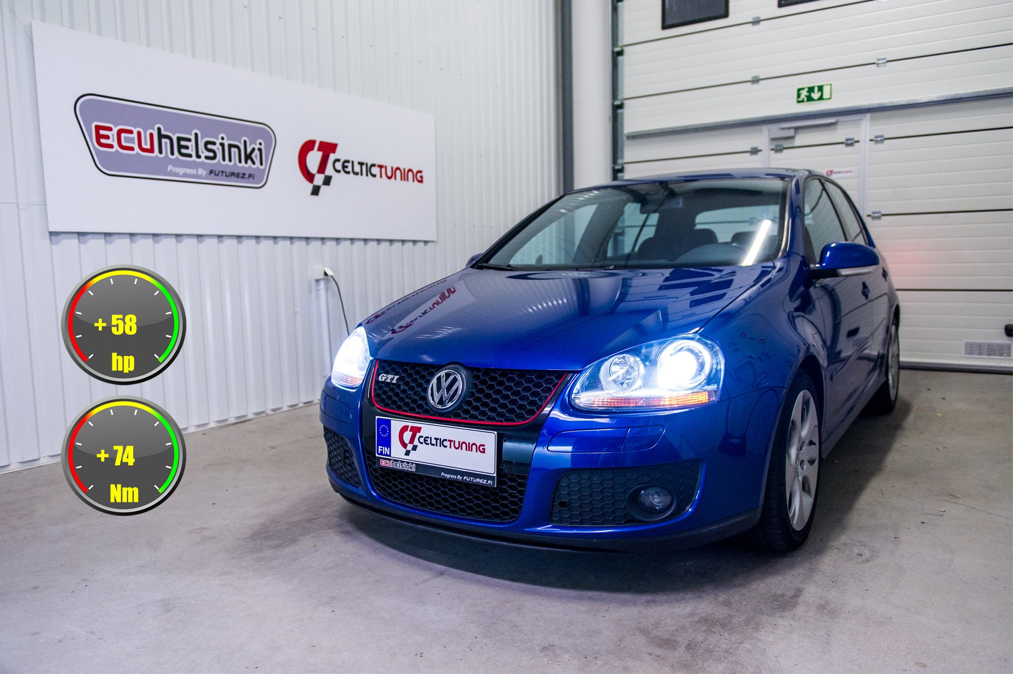Golf GTI MK5 lastutus celtic tuning