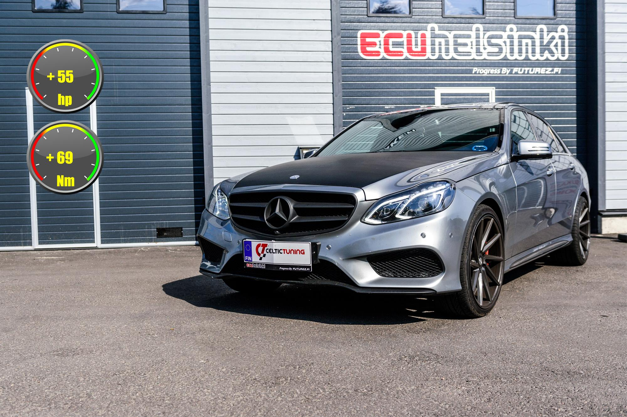 MB E350 celtic tuning lastutus