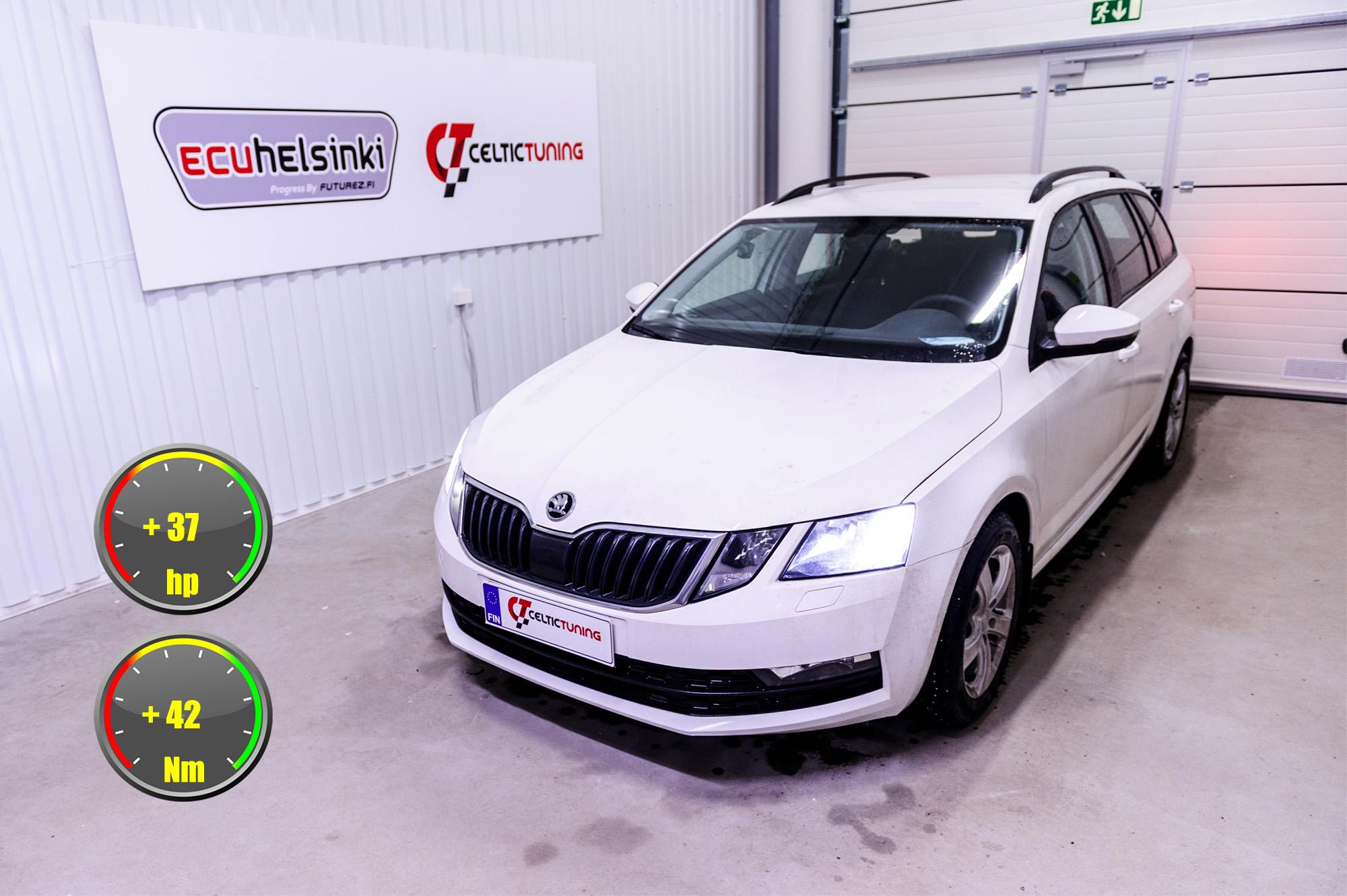 Octavia 1.4 TSI optimointi celtic