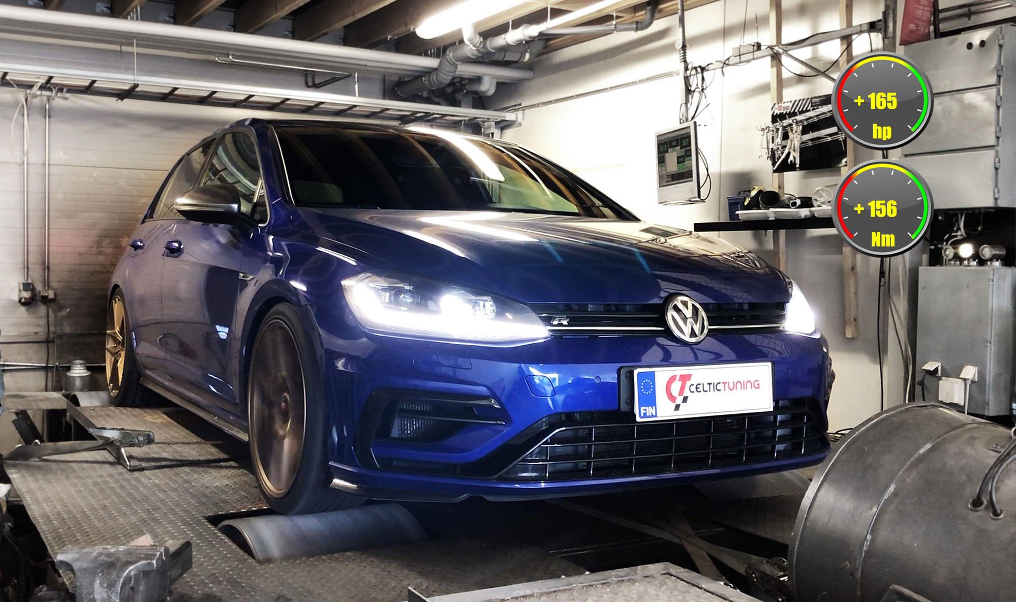 VW Golf R MK7.5 Stage 3 lastu celtic