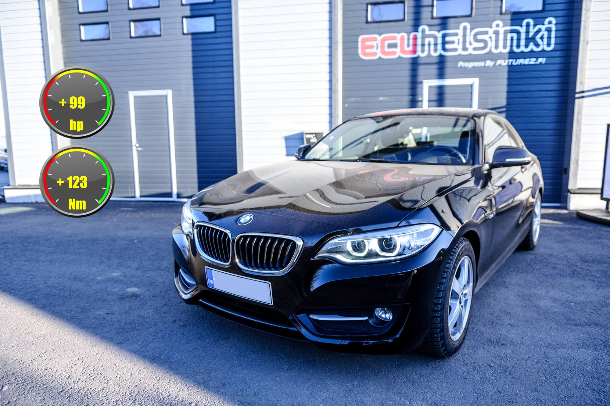 BMW 220i optimointi celtic tuning