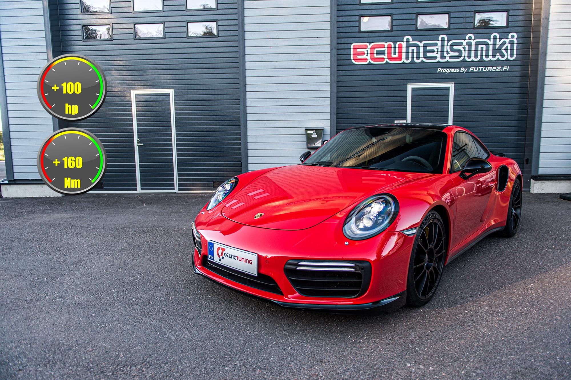 Porsche 911 ohjelmointi celtic tuning