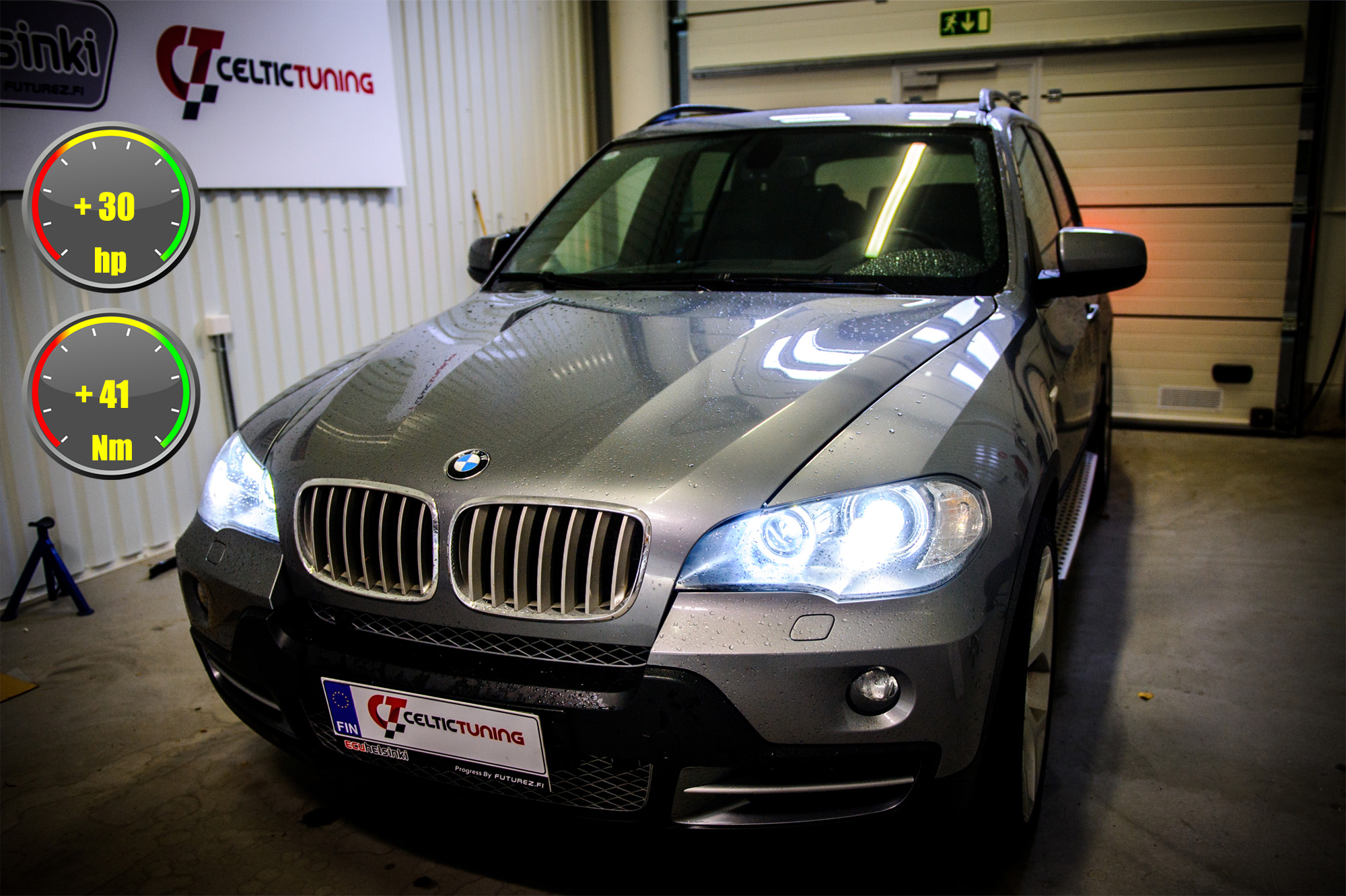 bmw x5 optimointi celtic tuning