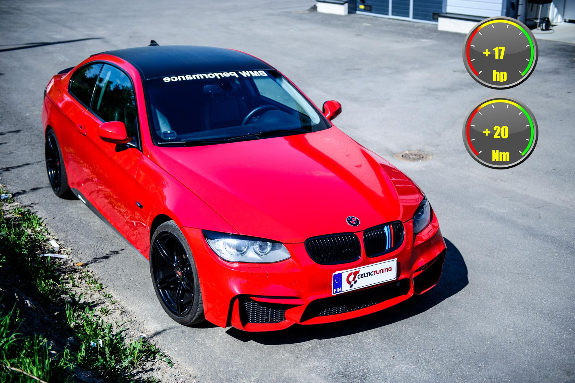 BMW 330i lastutus celtic tuning
