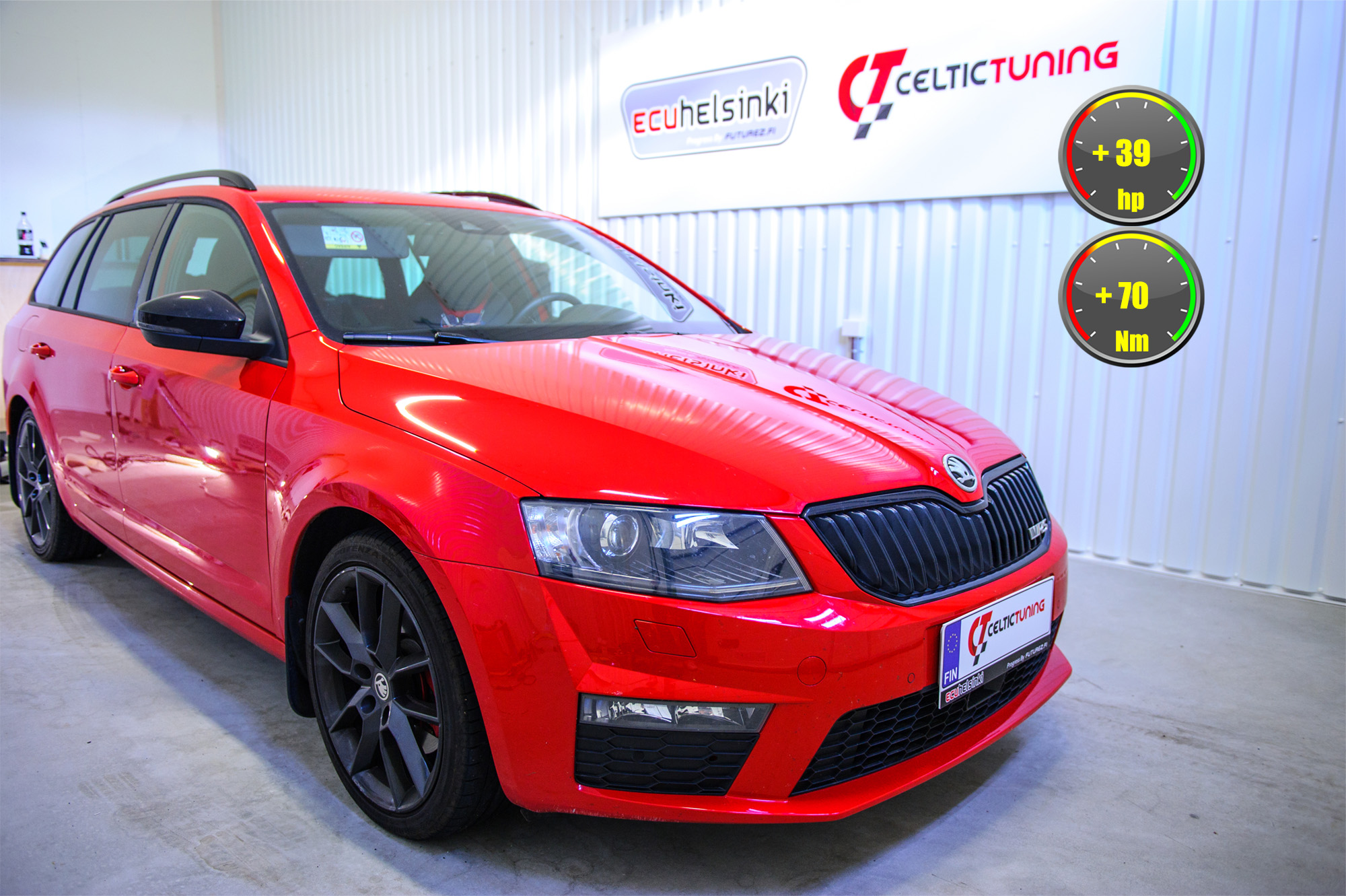 Skoda octavia RS 2.0 TDI optimointi