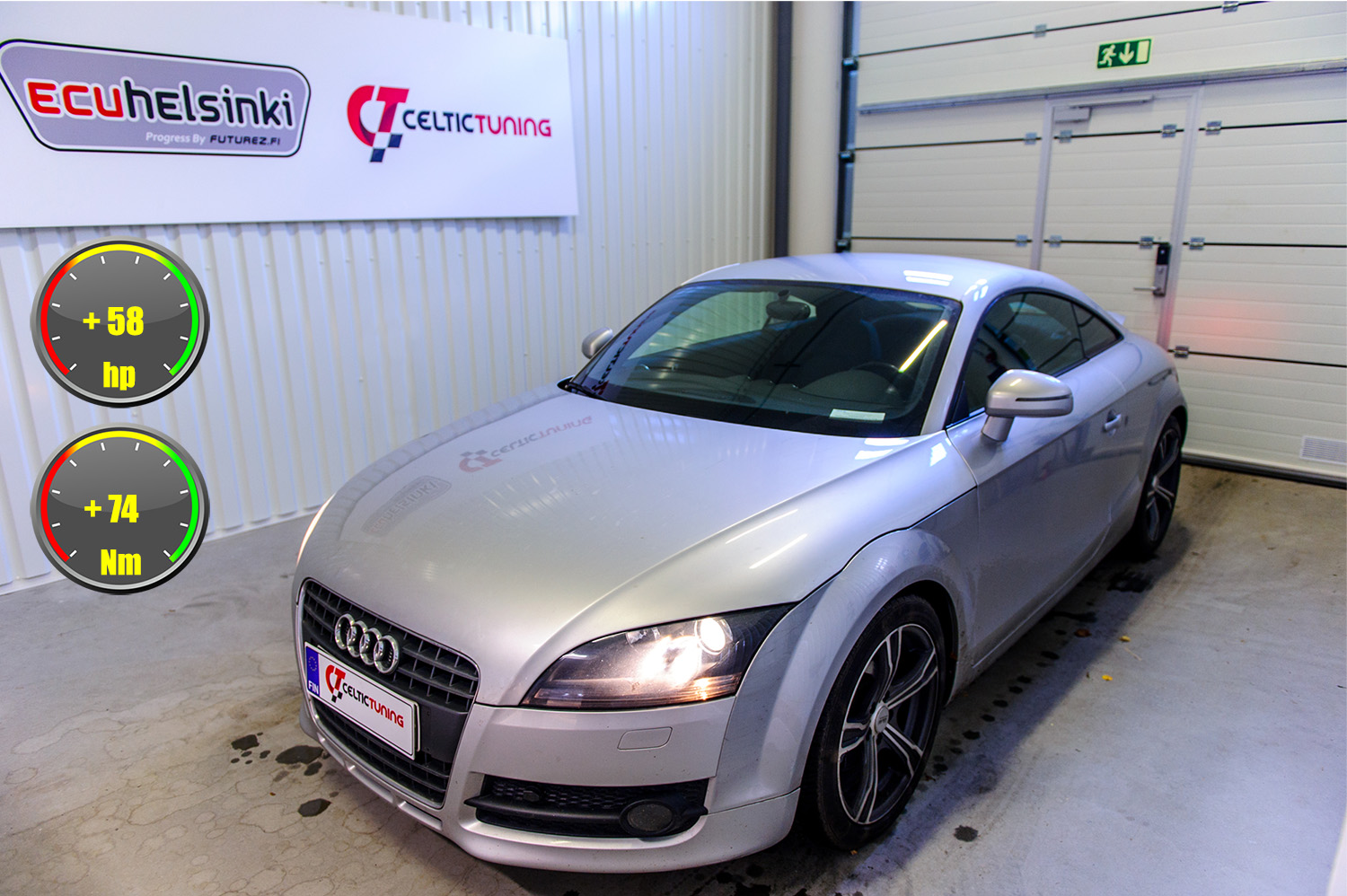 Audi TT optimointi celtic tuning