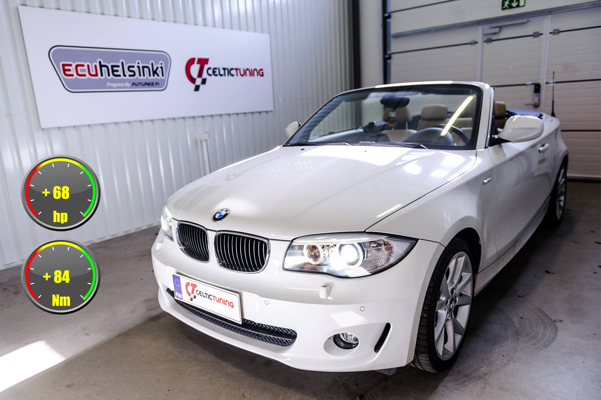 BMW 125i lastutus celtic tuning