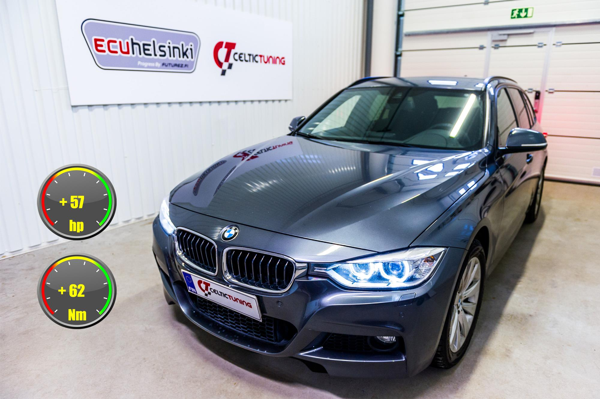 BMW 320D F31 optimointi celtic tunin