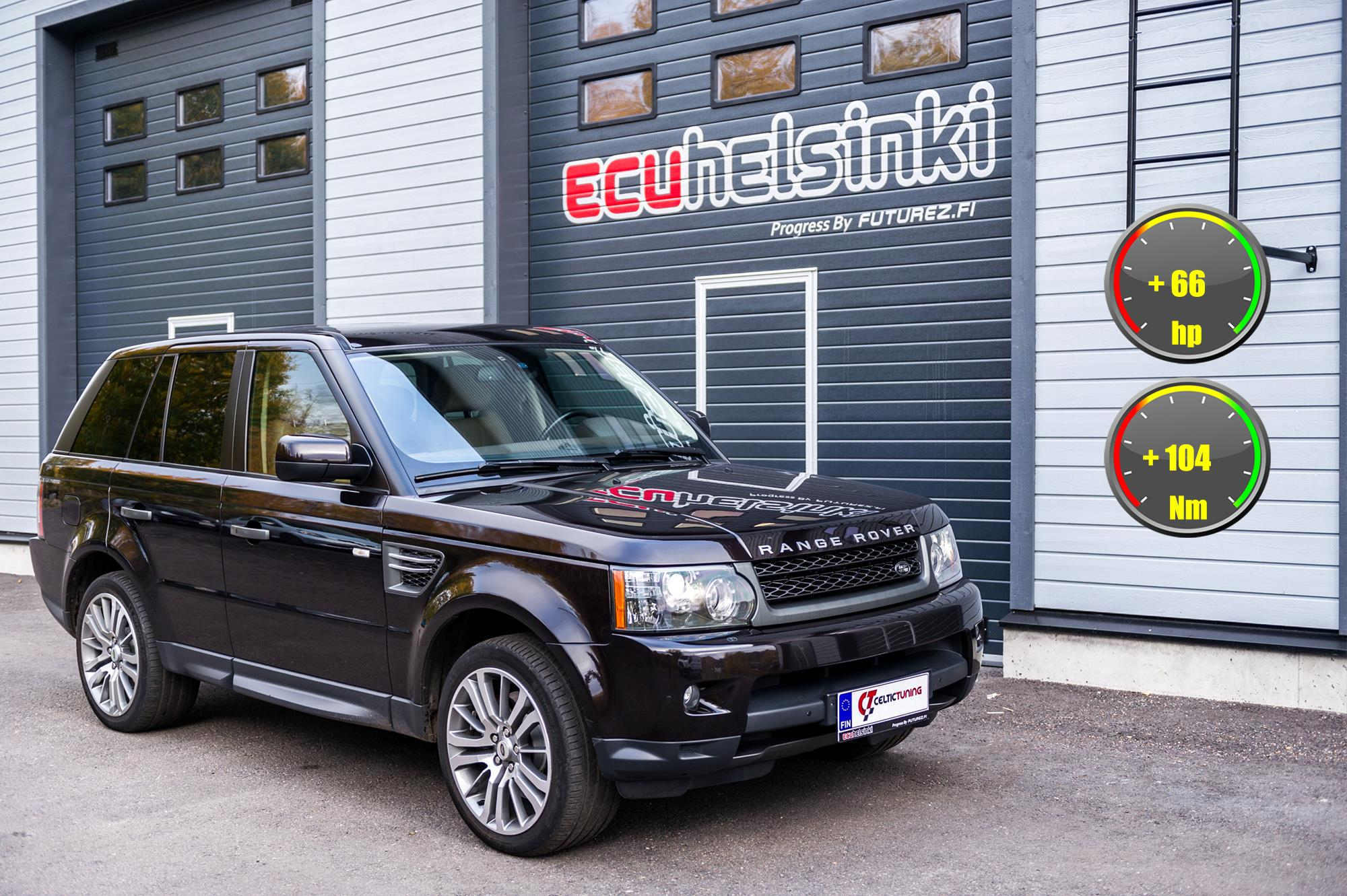 Land Rover Sport Celtic Tuning Lastu