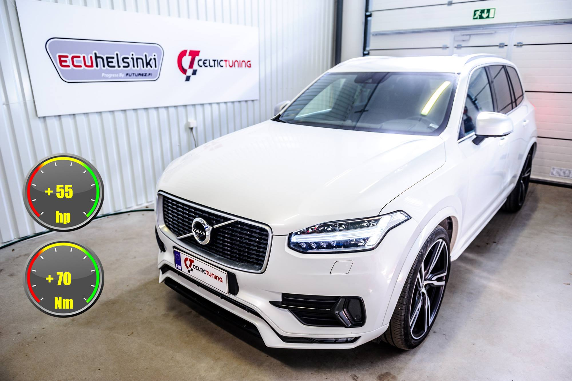 Volvo XC90 Optimointi Celtic tuning