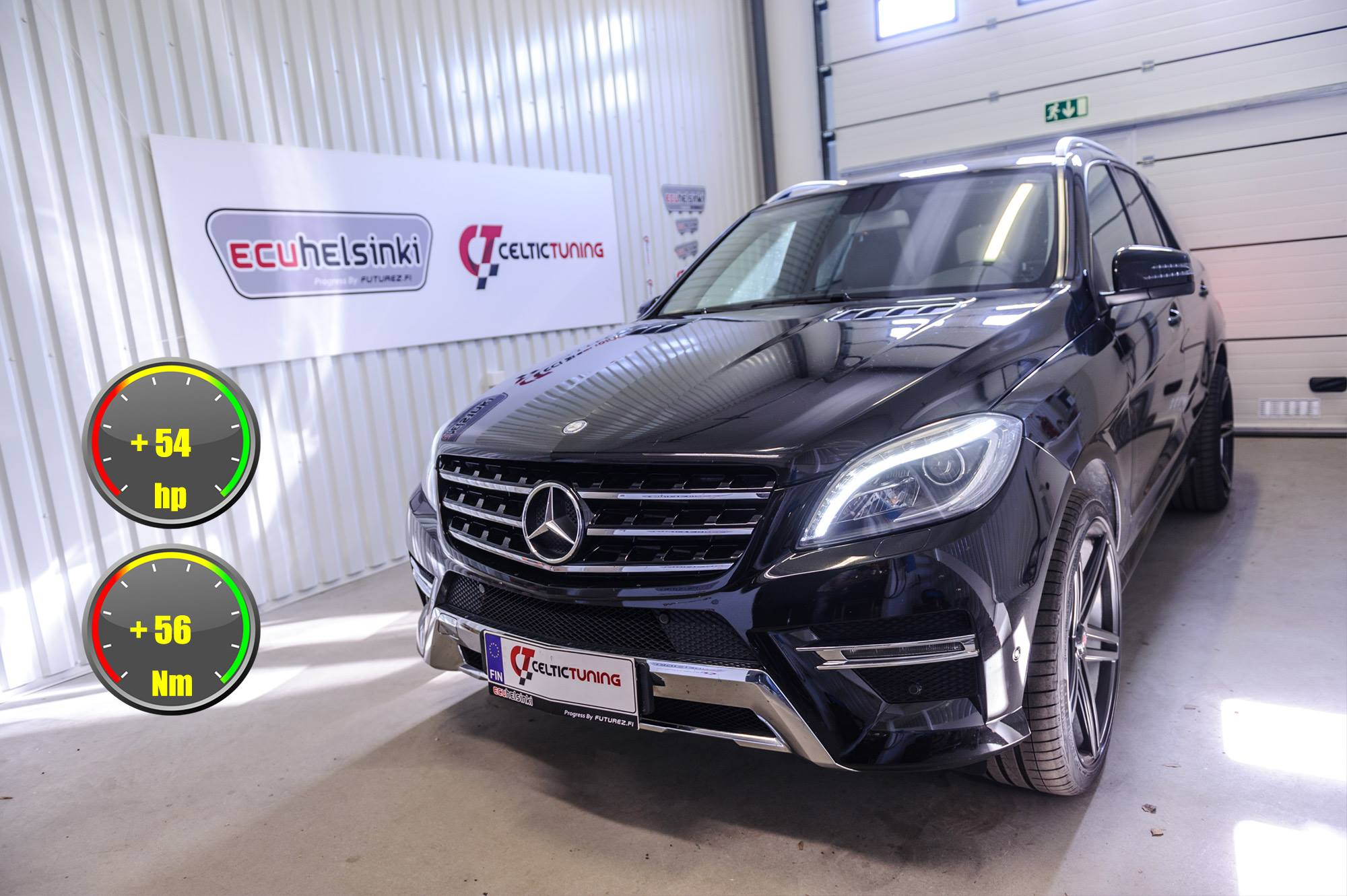 Mercedes ML 250CDI lastutus celtic